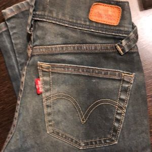 Levy's 504 jeans slouch skinny
